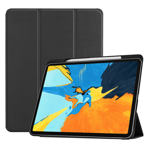 Trifold Smart Case Stand for 2018 Apple iPad Pro (11-Inch) - Black